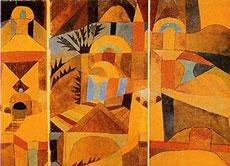 Paul Klee - les jardins du temple