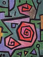 Paul Klee - heroic roses